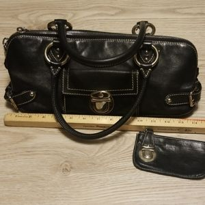 Marc Jacobs black Dr bag & coin purse